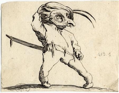Les Gobbi: L'homme masqué aux jambes torses