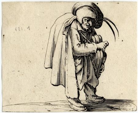 Les Gobbi: Le joueur de vielle