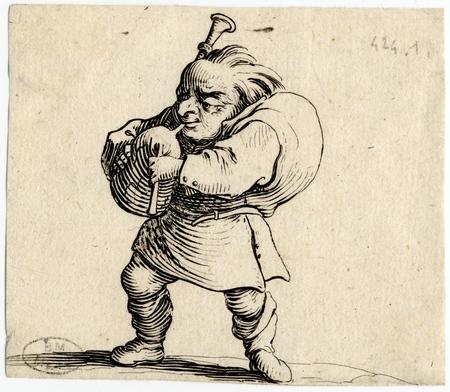 Les Gobbi: Le joueur de cornemuse