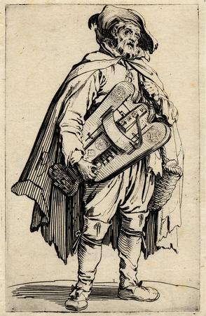 Les Gueux: Le joueur de vielle