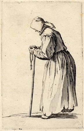 Les Gueux: La mendiante au rosaire