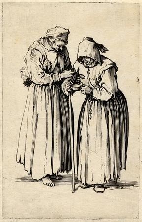 Les Gueux: Les deux mendiantes