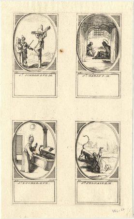 Les images des saints: Quinzième planche. Février