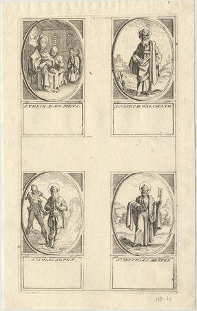 Les images des saints: Seizième planche. Février