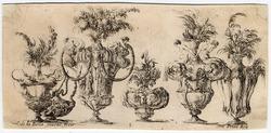 Raccolta di vasi diversi: Six vases