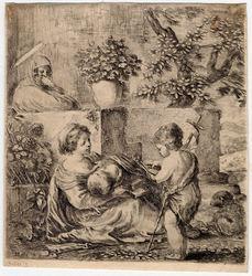 La Sainte Vierge, l'enfant Jésus, Saint Jean-Baptiste et Sainte Elisabeth