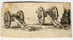 Recueil de diverses pièces très nécessaires à la fortification: Deux cano…