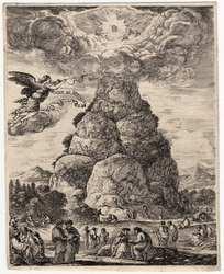 Le rocher des philosophes ou le Mont Parnasse
