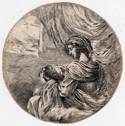 La Sainte Vierge allaitant l'enfant Jésus