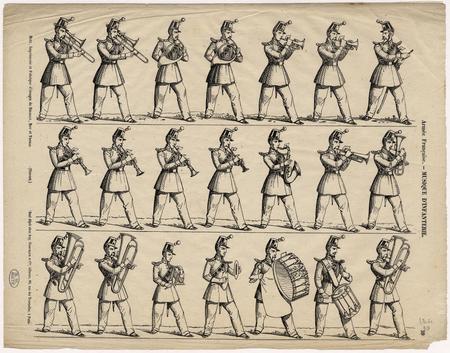 Armée française : musique d'infanterie