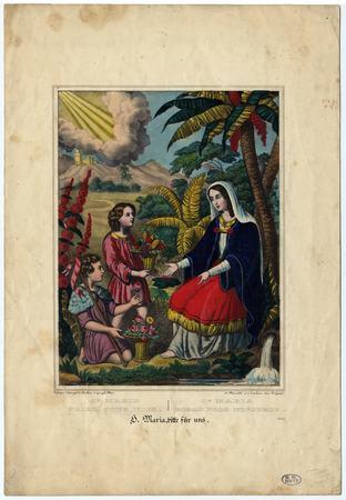 Sainte Marie priez pour nous
