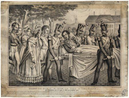 Mort de son altesse royal Monseigneur le Duc d'Orléans