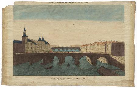 Vue prise du pont Notre-Dame