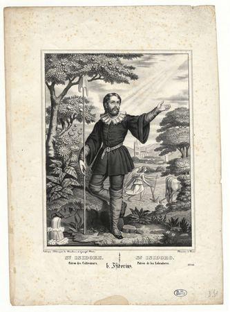 Saint Isidore patron des cultivateurs