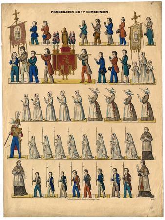 Procession de première communion