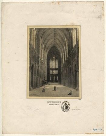 Intérieur de la cathédrale de Metz
