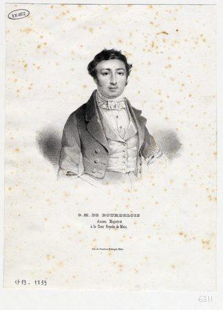 G. M. de Bourdelois ancien magistrat à la Cour royale de Metz