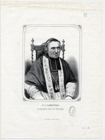 J. J. Limbourg archiprêtre curé de Thionville