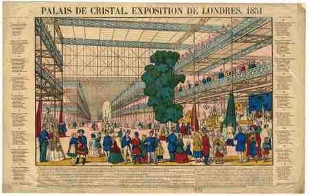 Palais de cristal : exposition de Londres 1851