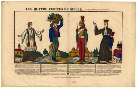 Les 4 vérités du siècle : le prêtre, le laboureur, le soldat, l'avocat