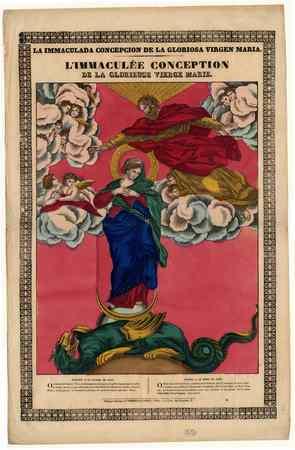 L'Immaculée conception de la glorieuse Vierge Marie