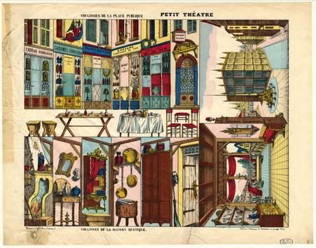 Petit théâtre : coulisses de la place publique - coulisses de la maison ru…