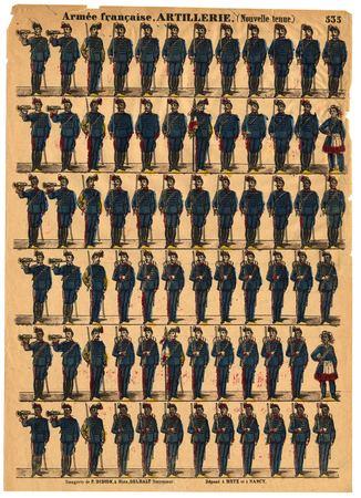 Armée française : artillerie