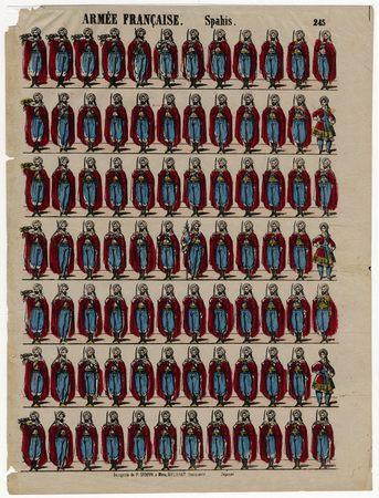 Armée française : spahis