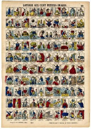 Loterie aux cent petites images