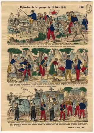 Episodes de la guerre de 1870-1871