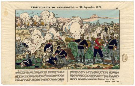 Capitulation de Strasbourg : 28 septembre 1870