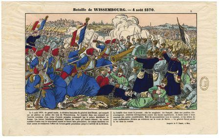 Bataille de Wissembourg : 4 août 1870