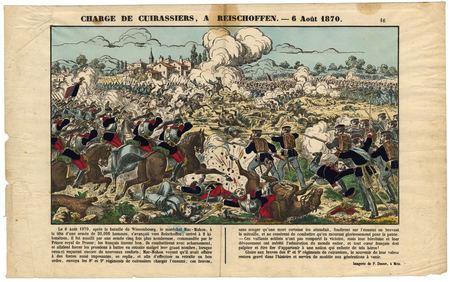 Charge de cuirassiers à Reischoffen : 6 août 1870