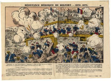 Résistance héroïque de Belfort : 1870-1871