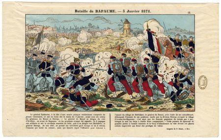Bataille de Bapaume : 3 janvier 1871