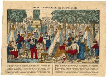 Metz : ambulance de l'esplanade