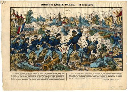 Bataille de Sainte-Barbe : 31 août 1870