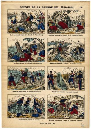 Scènes de la guerre de 1870-1871