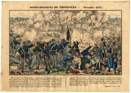 Bombardement de Thionville : novembre 1870
