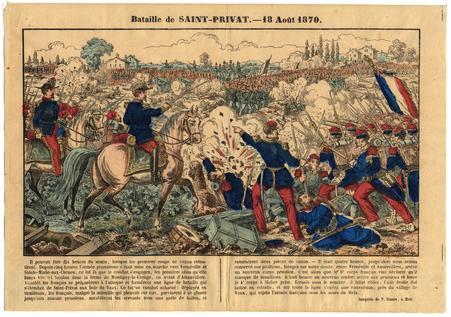 Bataille de Saint-Privat : 18 août 1870