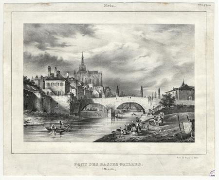 Metz : pont des basses-grilles