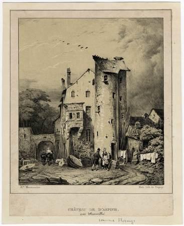 Château de d'Aspich près Thionville