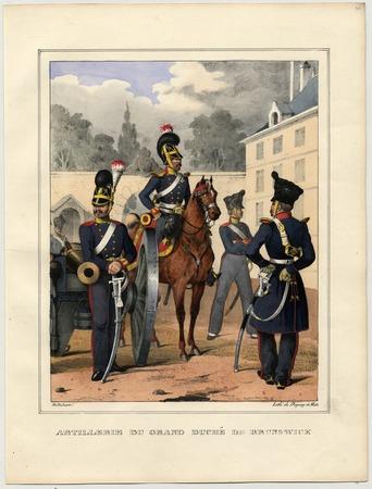 Artillerie du grand duché de Brunswick