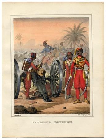 Artillerie égyptienne