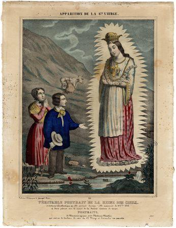 Apparition de la Sainte Vierge : véritable portrait de la Reine des Cieux