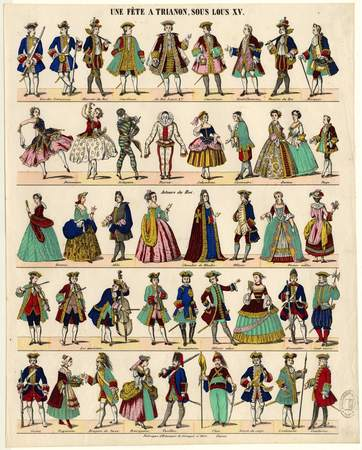 Une fête à Trianon sous Louis XV