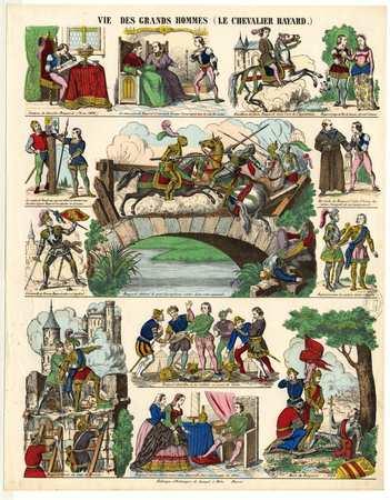 Vie des grands hommes : le chevalier Bayard