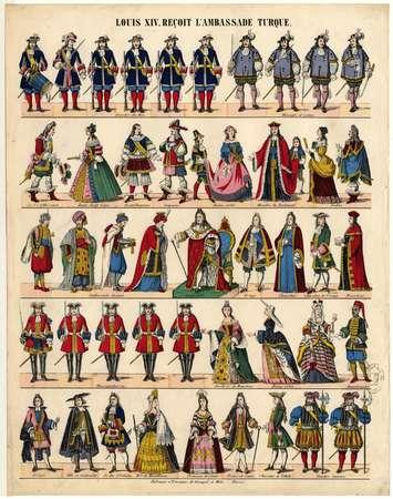Louis XIV reçoit l'ambassade turque