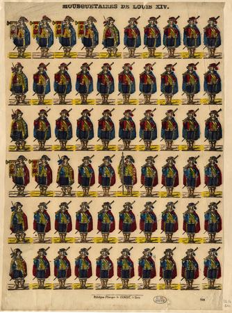 Mousquetaires de Louis XIV