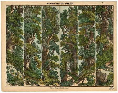 Coulisses de forêt